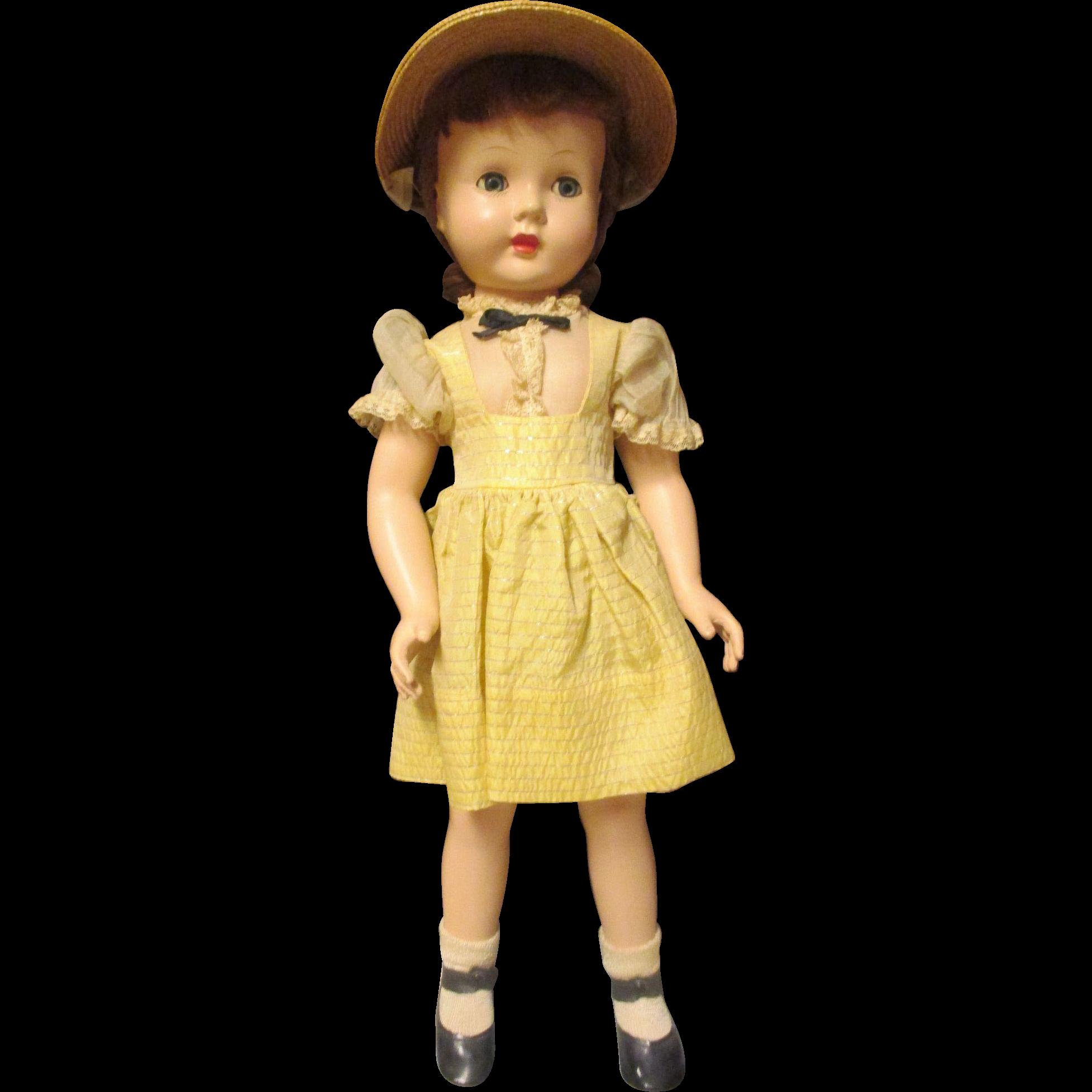 Vintage Effanbee Doll 1950 S From Lea Katjewelsandmore On
