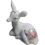 REDUCED Fenton Heart and Flowers Collection - Deer