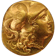 SALE Macedonian Greek Gold Stater Coin of Alexander The Great 336-323 BC