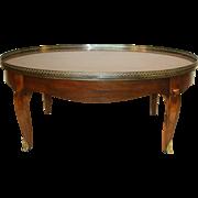 Baker Mahogany Coffee Table
