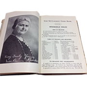 SOLD Historical 1931 Settlement Cookbook