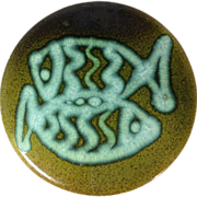 Ceramic Pisces Trivet