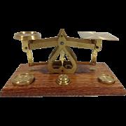 Vintage English Postal Scales