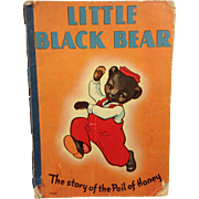 1939 Child's Book: Little Black Bear