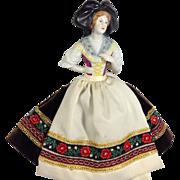 W. German Half-Doll Madame De Pont