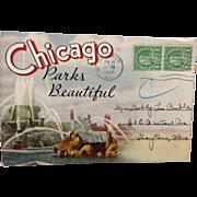 Max Rigot Chicago Parks Beautiful Souvenir Folder