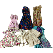 25 Handmade Clothing Items for Fashion Dolls 1960s