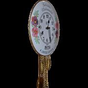 Vintage German Limited Edition Porcelain Pendulette