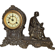 Antique Waterbury Vinola Mantle Clock MINT