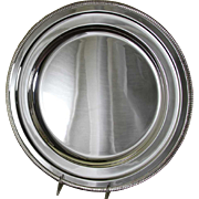 REDUCED Round Platter 14 in. with French Gadroon, Applied Border