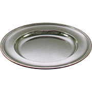 REDUCED Round Platter 12 in. with Plain Applied Mount