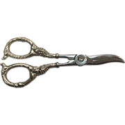 SOLD Hoffritz Grape Shears with Webster Sterling Silver Handles