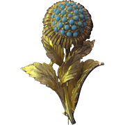 Hattie Carnegie Flower Brooch