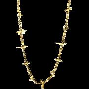 """30"""" indian fetish necklace, Zuni"""