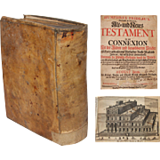 SALE Judaica -  Prideaux, Humphrey - The Old and New Testament Connected the History of the .