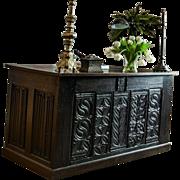 19th Century French Gothic Desk