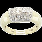 SALE .30CTW Diamond Ring in 14 Karat Gold