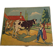 French Wooden Block Puzzle c.1940