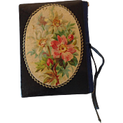Antique French Papier Mache Needle Case. C.1880