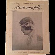 SOLD Mademoiselle Magazine Paris May 1925