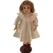 SOLD Fabulous Early French Bisque Bebe Jumeau Doll. Original Earrings, Underwear etc C.1878