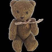 Cute Small Vintage Teddy Bear. Jointed Limbs.