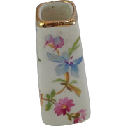 Old Miniature Limoges Vase for Dolls House. Tiny. Hand Painted
