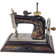Delightful Art Deco Child's Toy Sewing Machine. Casige Germany.