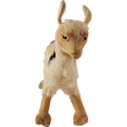 Very Cute Vintage Small Steiff Llama