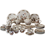 Aynsley Cottage Garden 45 pc Tea Set Bone China Service English Porcelain Vintage.