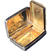 SALE Antique solid silver Vinaigrette. Edward Smith 1843
