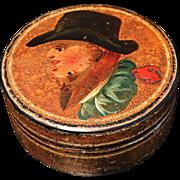 SALE 1st Duke of Wellington Lacquer Box. 1820