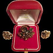 SALE Very old vintage much sought after Kalevala Koru Finland set of adjustable ring and ...