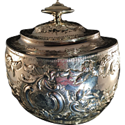 SALE Solomon Hougham 1799. 15oz Tea Caddy Sterling Silver London. Very Rare. Excellent ...