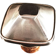 SALE Art Deco German Hallmarked  Silver Cork Stopper. Germany 1920-1930