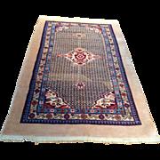"SALE 1960's Persian Sarab rug 4'2"" x 7'0"" Free shipping & appraisal"