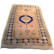 """SALE 1890's Antique Turkish Oushak rug 3' 5"""" x 6' 9"""" Free Shipping and ..."""