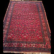 SALE Very Fine Persian Antique HALVIA BIJAR Oriental Rug made of fine wool on wool ...