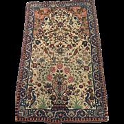 SALE Antique Persian Kerman Tree of Life Oriental vegetable dyes 2'3 x 3'9 ...