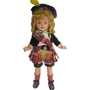 Reliable of Canada 1930s Scottish Highland Composition Jointed Doll