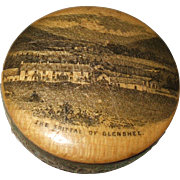Good 19th Century Double Sided Mauchline Ware Pin Cushion
