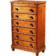 """SOLD Small """"Horner"""" like small chest of sex drawers."""