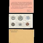 U.S. Mint 1961 Silver Proof Set in Original Packaging