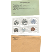 U.S. Mint 1960 Silver Proof Set in Original Packaging