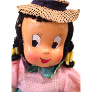 REDUCED Cloth little Lulu , 15 inches
