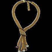 A Vintage 1950's Signed Hobe Necklace