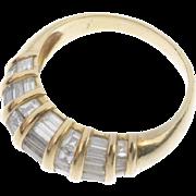 A 1.50 TCW Diamond Ring Size L 1/2