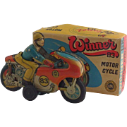 SALE Winner 83 Motorcycle by OMI w/Original box