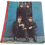 SALE BEATLES 1964 OLD STORE STOCK NOTE PAD