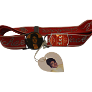 SALE VINTAGE MICHAEL JACKSON LEE BELT WITH ORIGINAL DISPLAY & TAG *MADE IN THE USA*